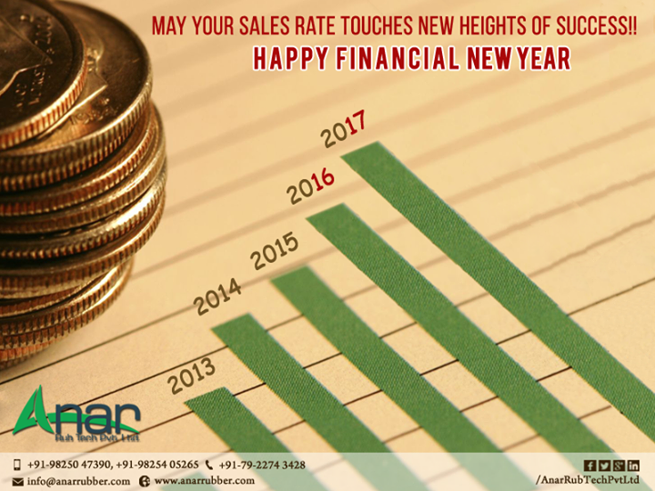 We wish you Happy Financial Year. With the grace of God you set new records of achievements.  #Rubberrollerforlamination #MetalExpanderRoller #LeafTypeAirExpandingShaft  #RubberRoller #RubberExpander #SafetyChuck  #AirExpandingShaft #PURoller #AirShafts #AnarRubTechPvtLtd