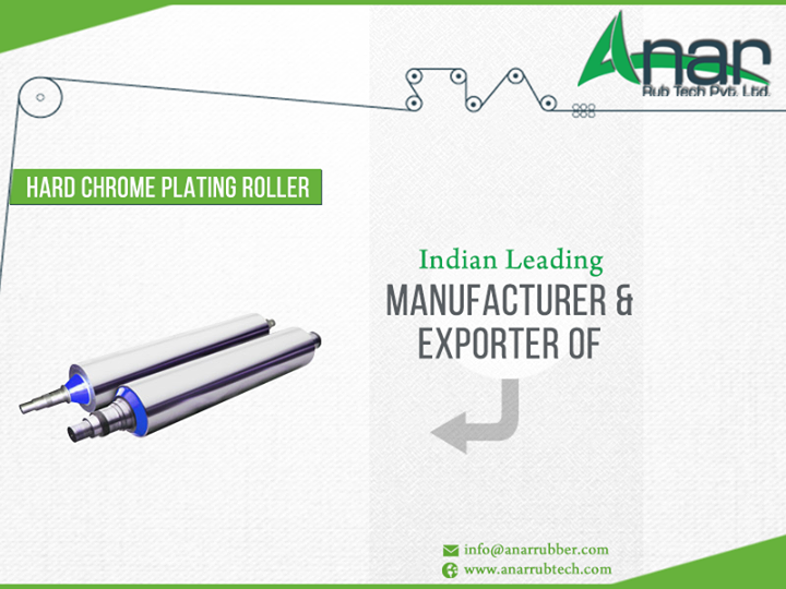 we are india's leading #manufacturer and #exporter of #Hard #Chrome #Plating #Roller (#HCP) http://ow.ly/mUhn300yUok