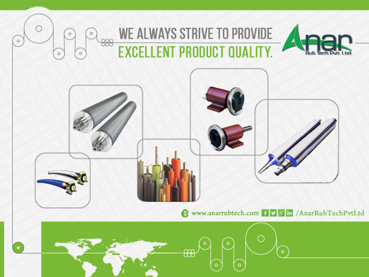 Anar Rub Tech Pvt. Ltd. - We always strive to provide excellent product quality http://ow.ly/U6IP300yVkl