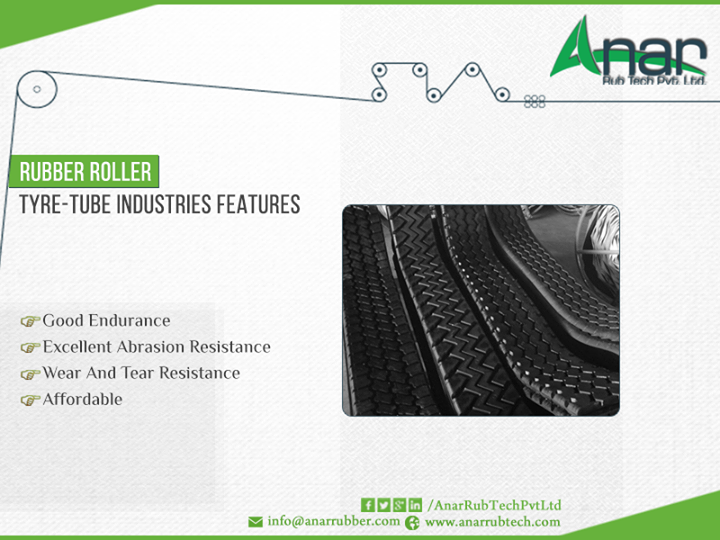 #Manufacturer of #Rubber #Roller for #Tyre #Tube #Industries from Anar Rub Tech Pvt Ltd