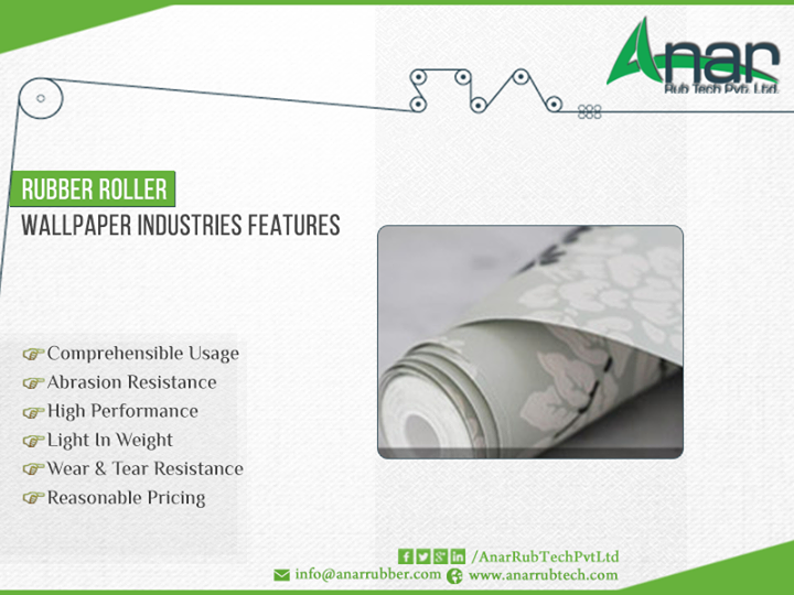 #Rubber #Roller #Wallpaper #Industries Features #AnarRubTechPvtLtd