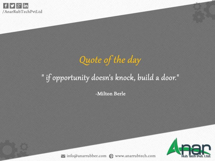 #Quote of the day