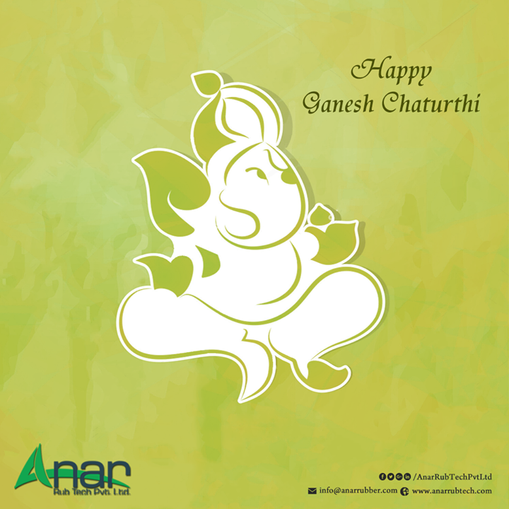 On this Propitious occasion May lord Ganesha Brings Prosperity and barmony in your life. #AnarRubTechPvtLtd