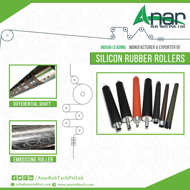 Silicon Rubber Roller is manufactured using contemporary technology and advanced machinery....... http://ow.ly/6q2o305d0IK  #SiliconRubberRollers #SiliconRubberRoller #Differentialshaft #EmbossingRoller #SiliconRoller #SiliconRollerRubber #SiliconRollerRubberManufacturers  W: http://AnarRubTech.com/ E: marketing@anarrubber.com M: +91 9825405265