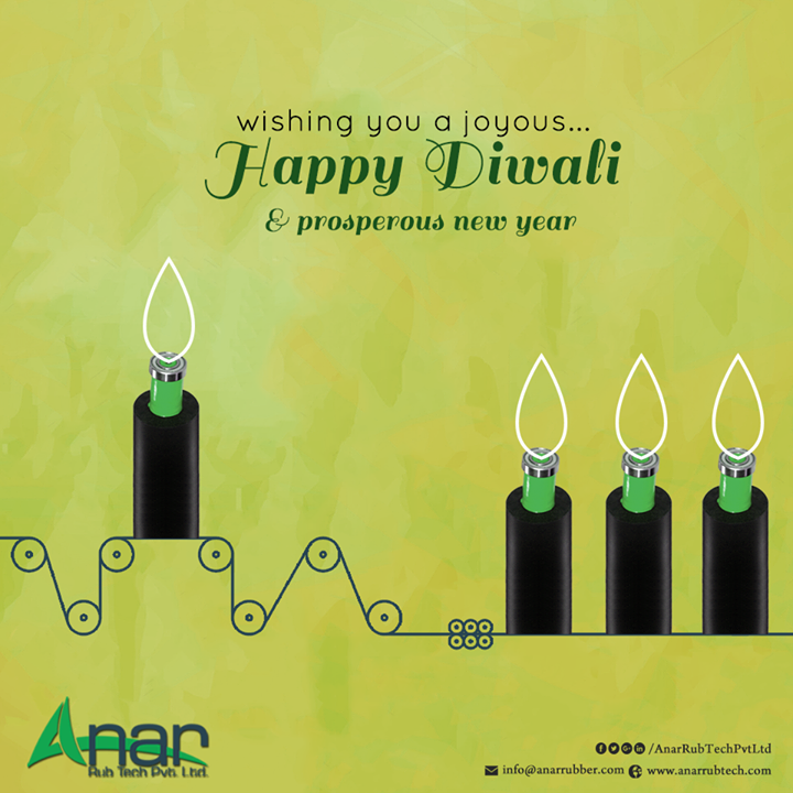 Diwali comes every year showering prosperity and positive spirit, driving us to bring in the best new products to renovate every nook and cranny of our house. This Diwali Anar Rub tech Pvt. Ltd brings to you premium quality rubber products which are useful in various household works as well as in various industries. The earnest endeavour of Anar Rub tech pvt.ltd is to provide our customers with the best of our services and offer them the best quality products. Our Anar Rub Tech rubber products range from rubber rollers, PU rollers, air shafts, and wrinkle removers to safety chuck, ink circulating system or ink pump and quick-change sleeve. So, this Diwali, be all set to check out a wide variety of our exclusive quality rubber products. Utilitarian for multiple purposes, the rubber products brought to you by Anar Rub tech are sure to add fervour to your festive spree. #AnarRubTech #safetychuck #quickchangesleeve #inkcirculatingsystem #RubberRollers