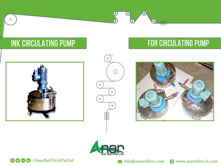 Best Ink Circulating Pumps to Choose From Anar Rub Tech Ink circulating pump is used in several industries and is used to make the process of ink circulation easier. If you are looking for high quality ink circulating pump at a reasonable rate, Anar Rub Tech is the best company to consider. We are an Ahmedabad based company and are the leading ink circulating pump supplier. Choose from the best grade stainless steel and have your products custom made from us.   #InkCirculatingpump #ManufacturerofInkCirculatingpump #ExportersofInkCirculatingpump #SuppliersofInkCirculatingpump  w: http://anarrubtech.com E: marketing@anarrubber.com M: +91 9825405265