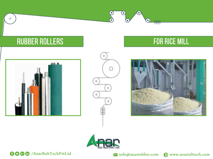 Find First-Rate Rubber Rollers for Rice Mills Heavy duty PU coated rubber rollers from AnarRub Tech Pvt. Ltd. find extensive use in the rice mills. Our rubber rollers for rice mill are crafted with precise engineering to meet an impeccable finish. These rubber rollers are abrasion resistance and are manufactured by use of high-end technology. Rubber rollers for rice mill reduce the operating costs of rice mills as they minimize the wastage due to rubber for being vibration resistant. #RubberRollers #RubberRollersforRiceMills #ManufacturerofRubberRollersforRiceMills #ExportersofRubberRollersforRiceMills #SuppliersofRubberRollersforRiceMills #RubberRoller #RubberRollersforRiceMillsIndustry #BestRubberRollersforRiceMills #RubberRollersManufacturerforRiceMills #RubberRollersExportersforRiceMills w: http://anarrubtech.com E: marketing@anarrubber.com M: +91 9825405265
