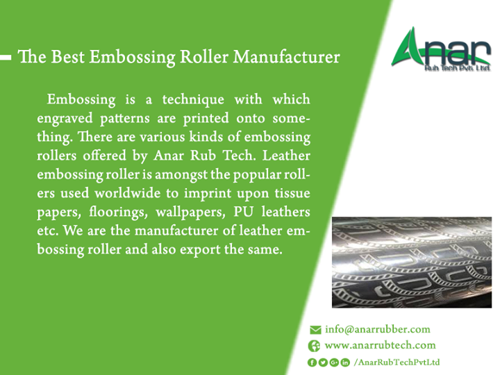 The Best Embossing Roller Manufacturer
