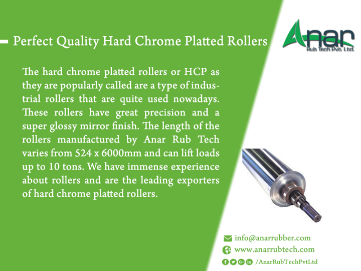 Perfect Quality Hard Chrome Platted Rollers