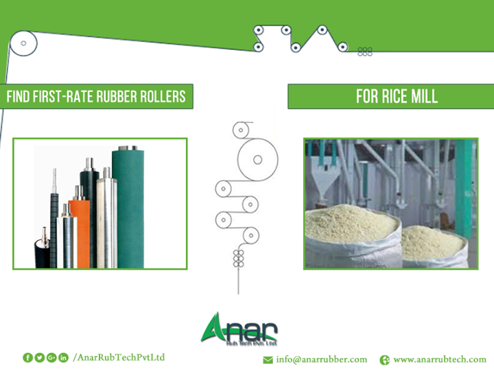 Find First-Rate Rubber Rollers for Rice Mills