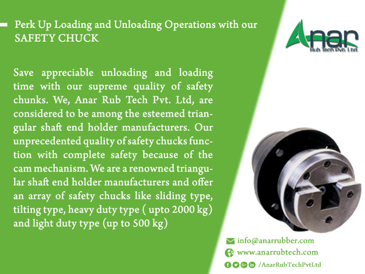 Perk Up Loading and Unloading Operations with our SAFETY CHUCK