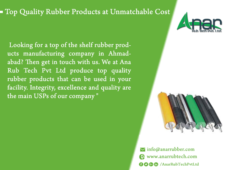 Top Quality Rubber Products at Unmatchable Cost