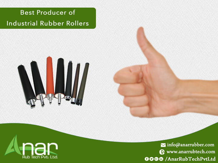 Anar Rub Tech Pvt Ltd: Best Producer of Industrial Rubber Rollers