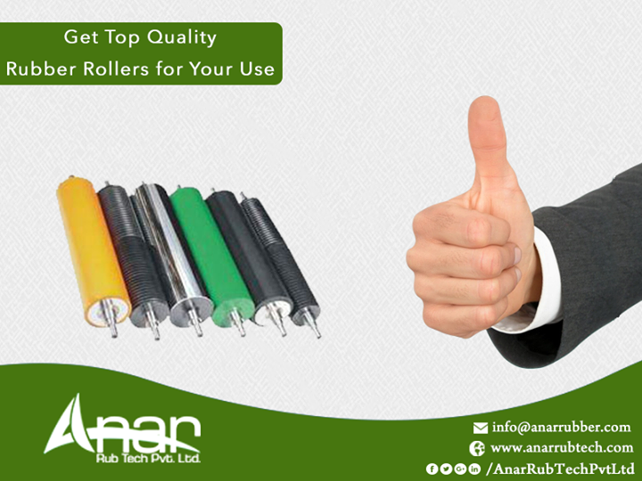 Get Top Quality Rubber Rollers for Your Use Our company is considered as one of the paramount rubber roller manufacturers both in the domestic and international markets. The top quality rubbers used for manufacturing these rollers can guarantee you more durability and efficiency in work.  #RubberRollers #TransportRollers #TransportRollersManufacturers #TransportRollersSuppliers #TransportRollerExporters #ManufacturersofTransportRollers #SuppliersofTransportRollers #ExportersofTransportRollers #BestManufacturersofTransportRollers #BestExportersofRubberRollers w:http://anarrubtech.com/   E:marketing@anarrubber.com   M:+91 9825405265