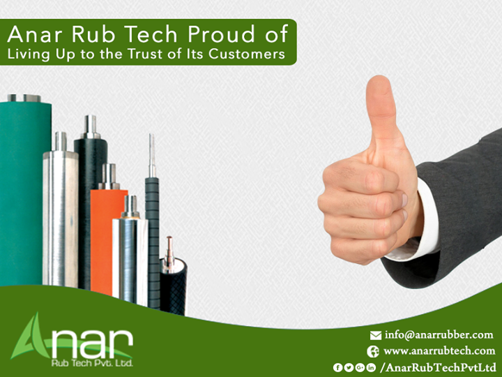 Anar Rub Tech Proud of Living Up to the Trust of Its Customers