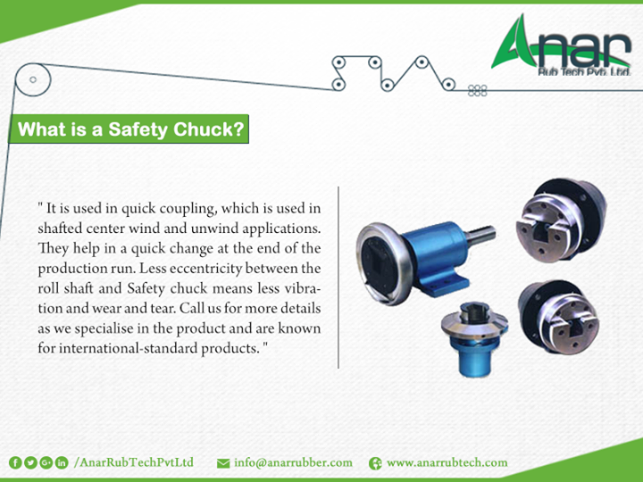 What is a safety chuck?