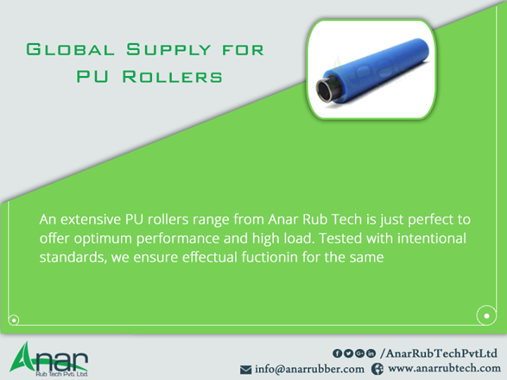 Global Supply for PU Rollers