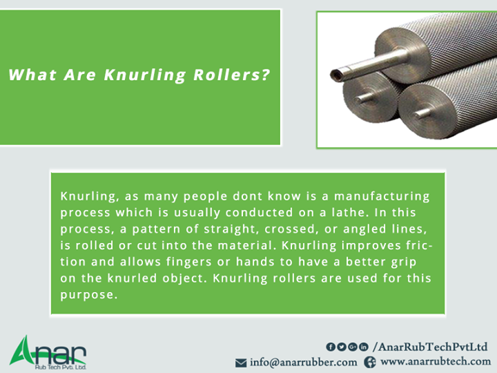 What Are Knurling Rollers?