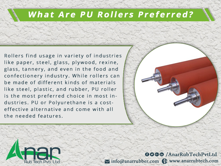 What Are PU Rollers Preferred?