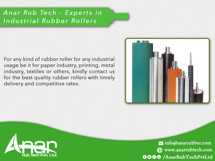 Anar Rub Tech - Experts in Industrial Rubber Rollers