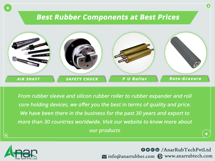 Best Rubber Components at Best Prices