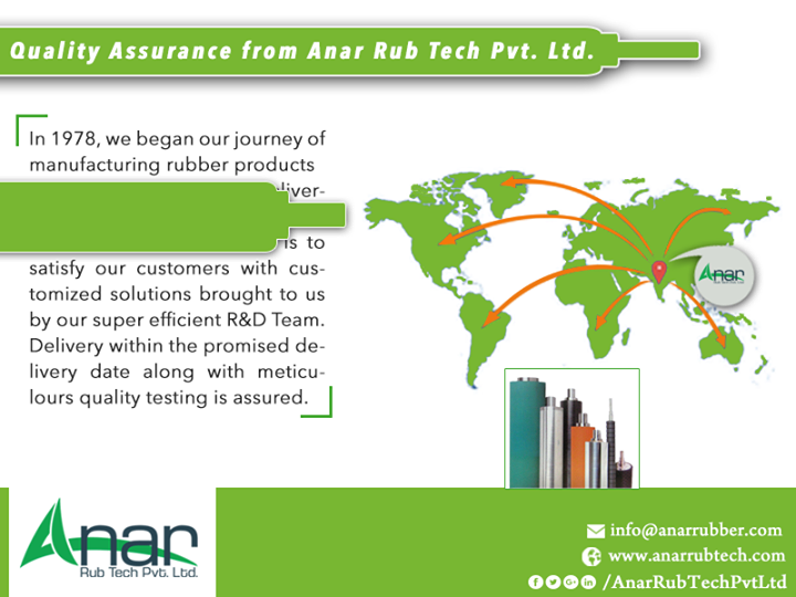 Quality Assurance from Anar Rub Tech Pvt. Ltd.