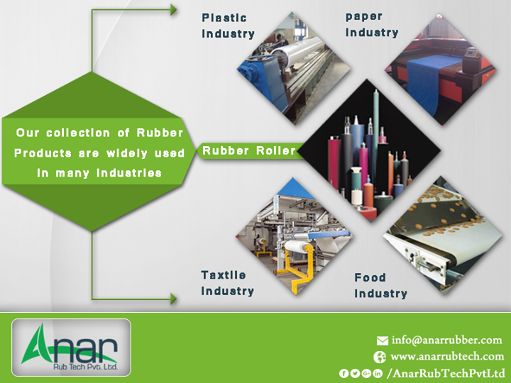 Our collection of Rubber Products are widely used in many industries