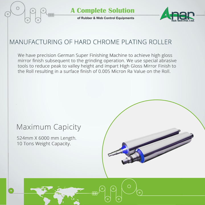 MANUFACTURING OF HARD CHROME PLATING ROLLER