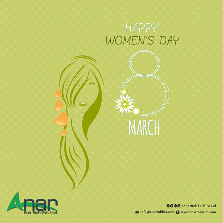 Happy woman's Day from Anar Rub Tech Pvt Ltd Every day I find you more and more beautiful, It's the way you care, adds to your beauty, Today, on your special day,  I promise that I will never ever look at the moon to get its warmth, Because I have found my moon Happy woman's Day #HappyWomensday #PURollers   #AirExpandableShafts   #AniloxRollers   #EmbossingRollers   #Quickchangesleeve   #Inkcirculatingsystem   #WrinkleRemovingRolls   w:http://anarrubtech.com/   E:marketing@anarrubber.com   M:+91 9825405265