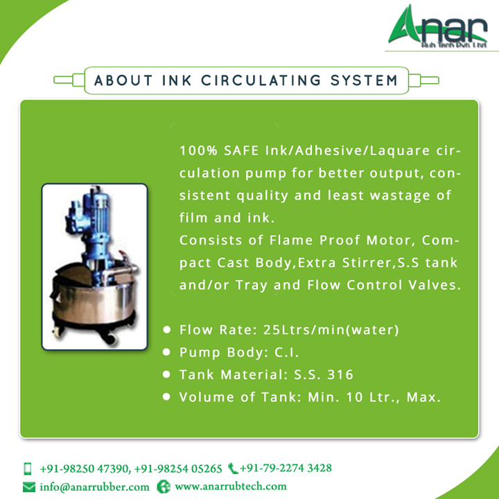 ABOUT INK CIRCULATING SYSTEM