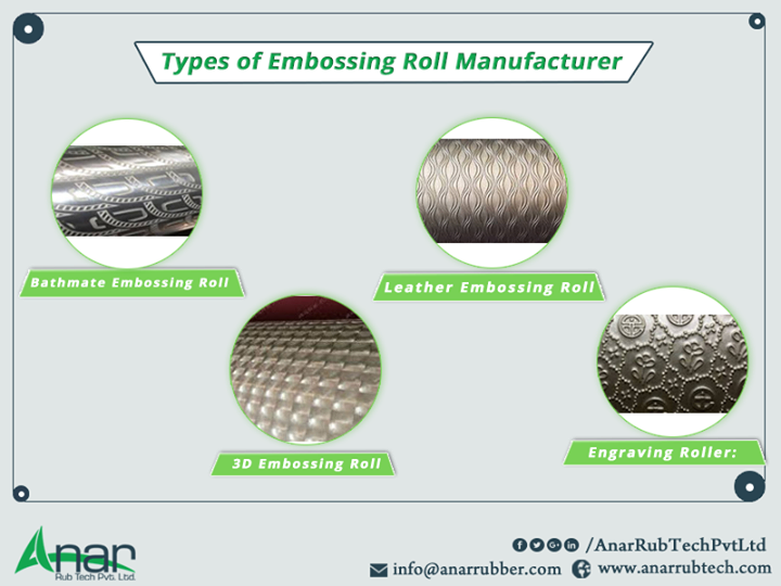 Types of Embossing Roll manufacturer