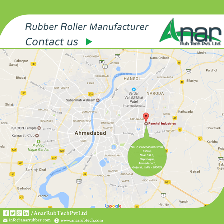 Rubber Roller manufacturer Contact us