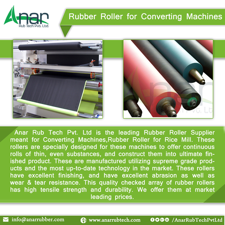 Rubber Roller for Converting Machines