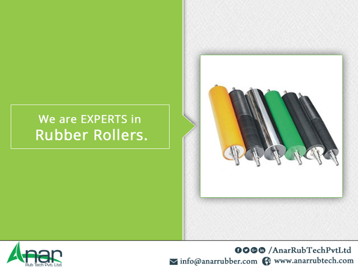 We are EXPERTS in Rubber Rollers.