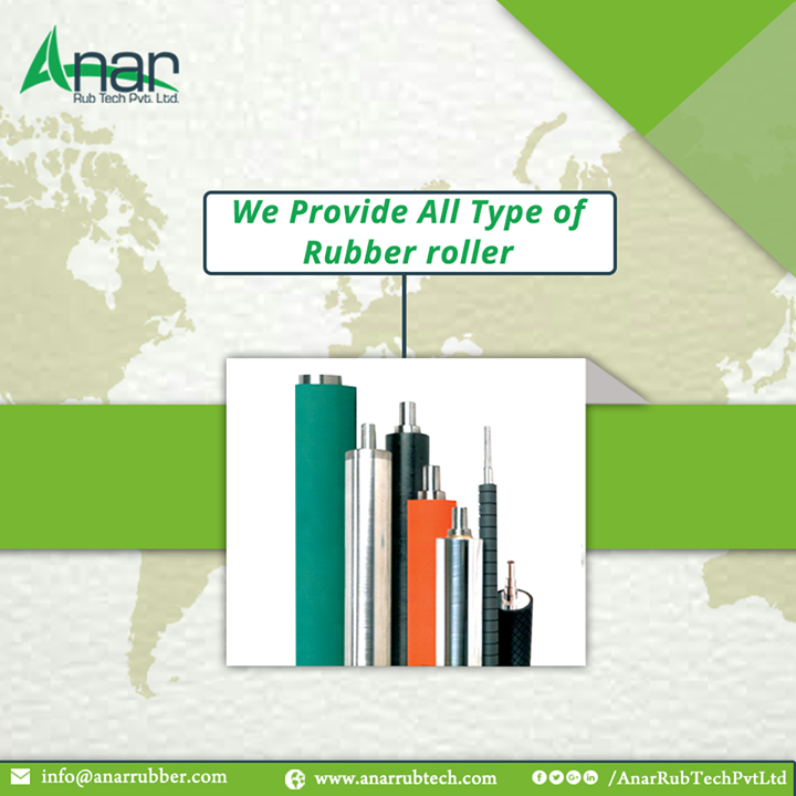 We Provide All Type of Rubber roller
