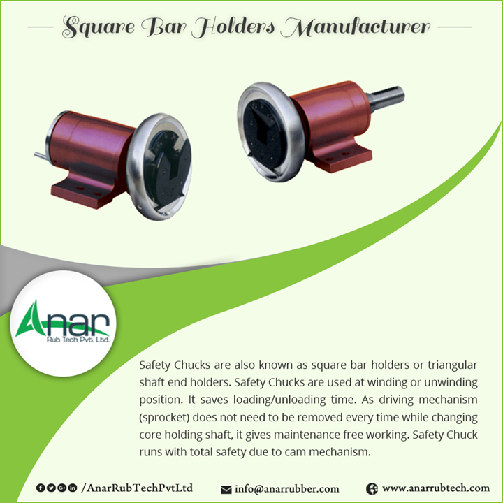Square Bar Holders Manufacturer
