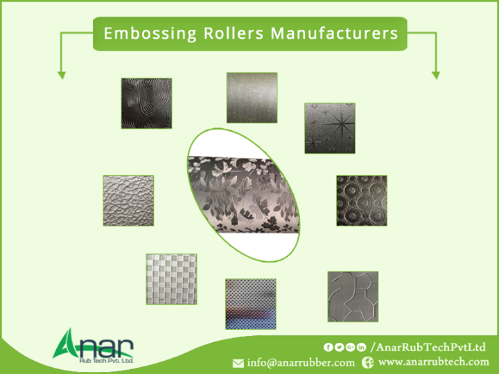 Embossing Rollers Manufacturers