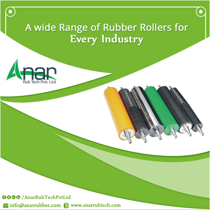 A Wide Range of Rubber Rollers for Every Industry #RubberRollerforTyreTubeIndustry #RubberRollerForSheetMetalIndustry #RubberRollerForLaminationIndustries #RubberRollerForFoilIndustries #RubberRollerForLeatherIndustries  w:http://anarrubtech.com/