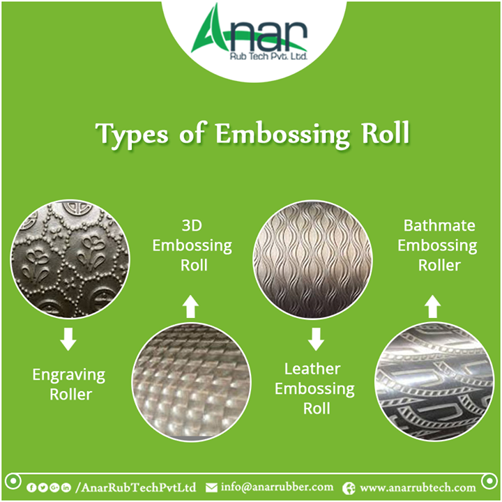 Types of Embossing Roll #EmbossingRoll #EmbossingRollManufacturers #EmbossingRollSuppliers #EmbossingRollExporters w:http://anarrubtech.com/