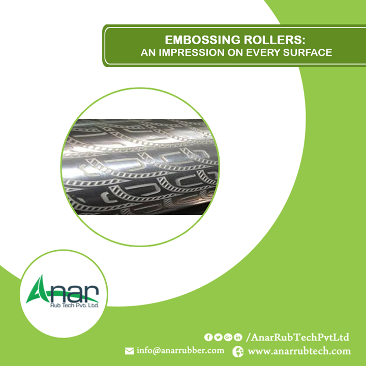 Anar manufactures three types of embossing rollers: 1. Bathmate rollers, 2. Engraving Rollers, 3. 3D embossing roller, Leather embossing roller. All these rollers are used in sheets, wallpaper, flooring or PVC Leather Cloth. All these rollers are manufactured with best quality materials with strict supervision on its products and quality. #EmbossingRoller #EmbossingRollerManufacturers #EmbossingRollerExporters #EmbossingRollerSuppliers
