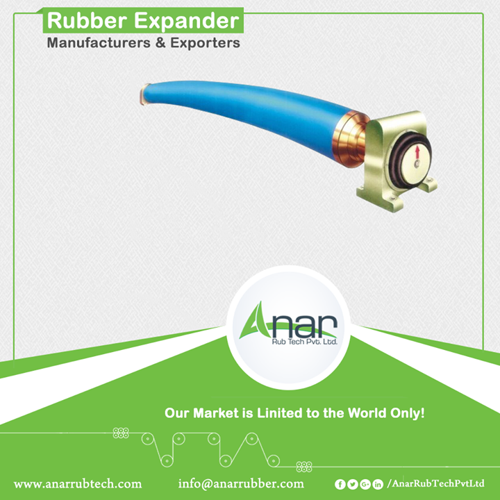 With the low price and high performance, Rubber Expander from Anar is highly demanded in the paper industry and printing industry. This kind of tool is generally used in removing wrinkles and eliminating baggy centres, controlling slack edges and bringing evenness on the surface.   #RubberExpanderRoller #RubberExpanderRollerManufacturers #RubberExpanderRollerExporters #RubberExpanderRollerSuppliers