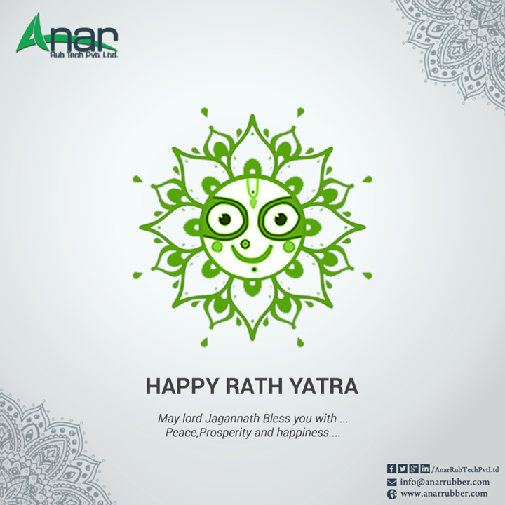 May lord Jagannath Bless you with... Peace,Prosperity and happiness.... #Rathyatra #LugTypeAirExpandableShaftManufacturers  #LeafTypeAirExpandableShaftManufacturers  #PURollersManufacturers  #AirShaftManufacturers