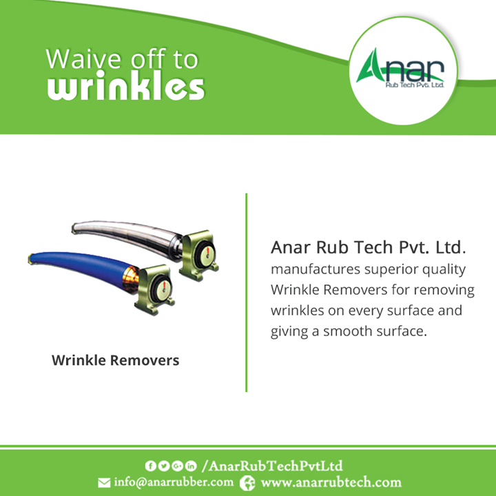 Anar Rub Tech Pvt. Ltd. manufactures superior quality Wrinkle Removers for removing wrinkles on every surface and giving a smooth surface.  #WrinkleRemoversRoller  #WrinkleRemoversRollerManufacturers  #WrinkleRemoversRollerExporters  #WrinkleRemoversRollerSuppliers