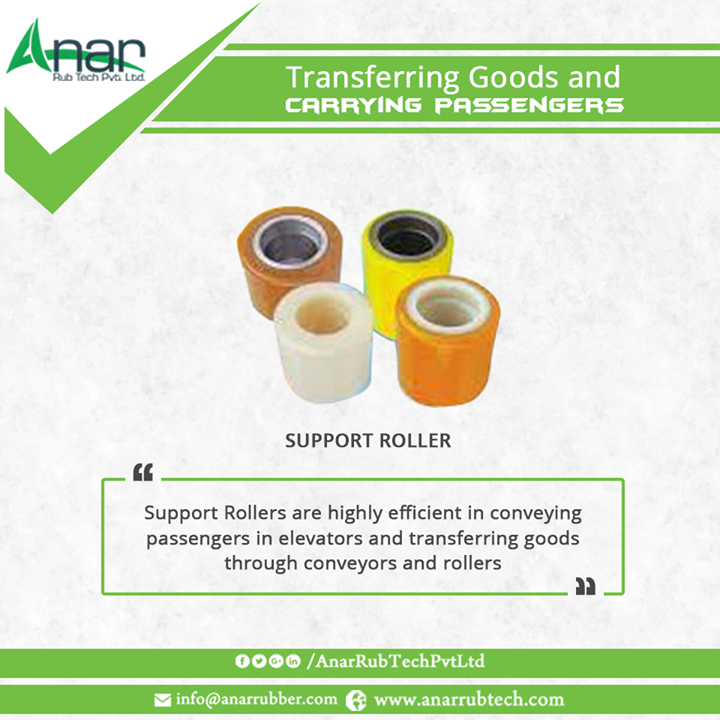 Support Rollers are highly efficient in conveying passengers in elevators and transferring goods through conveyors and rollers.  #SupportRollers #SupportRollersManufacturers  #SupportRollersExporters  #SupportRollersSuppliers