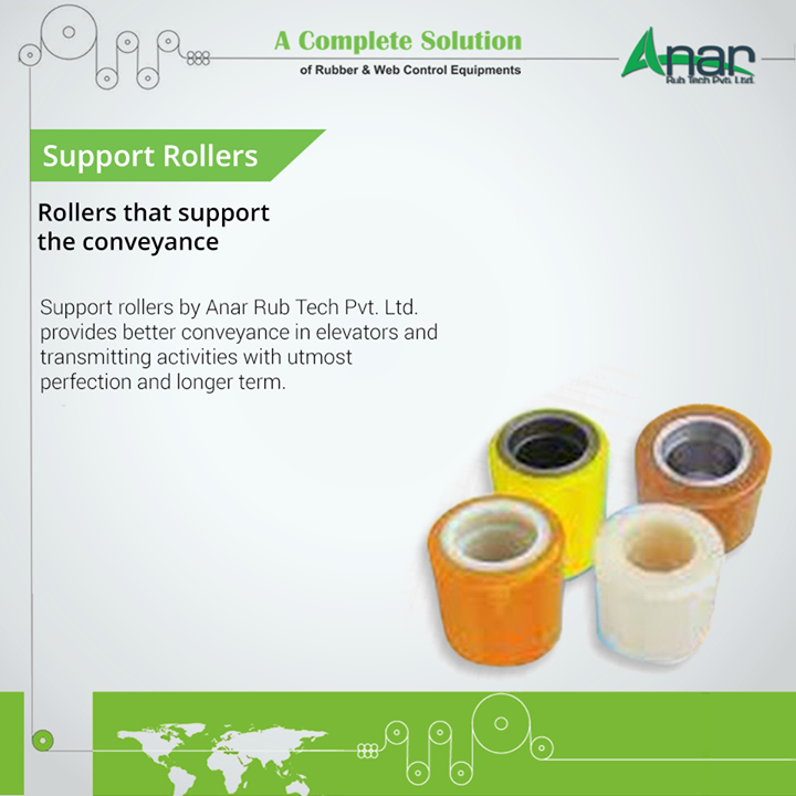 Anar Rub Tech,  SupportRollers, SupportRollersManufacturers, SupportRollersExporters, SupportRollersSuppliers
