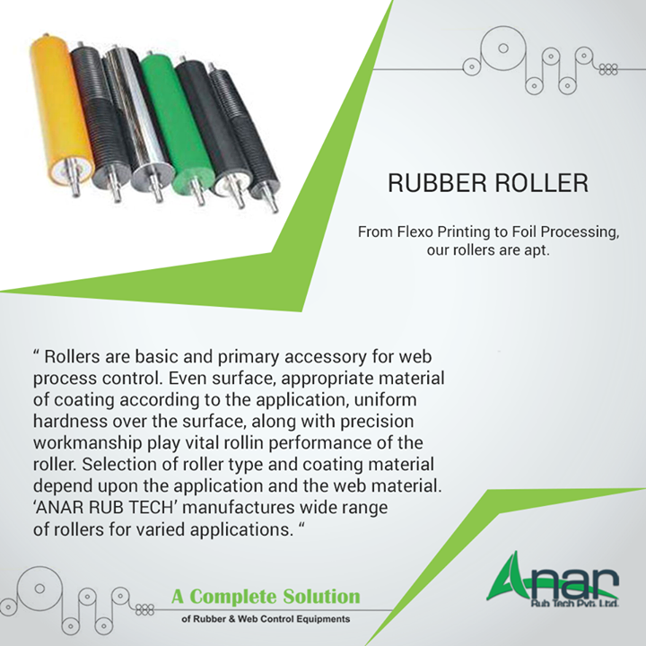 High Quality rubber Rollers are apt for manufacturing process and making every operational activities easy.  #RubberRollers #RubberRollersManufacturers #RubberRollersExporters #RubberRollersSuppliers