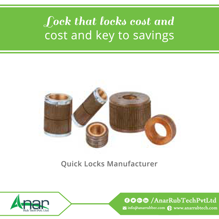 Quick Locks by Anar Rub Tech Pvt. Ltd. is highly cost effective which is available at reasonable price and quality performance for PVC core without any slip.  #QuickLocks #QuickLocksManufacturers #QuickLocksExporters #QuickLocksSuppliers