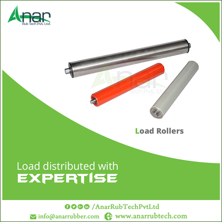 Load Rollers by Anar Rub Tech Pvt. Ltd. are fabricated with high grade raw materials and latest innovations to be sturdy even in harsh conditions.  #LoadRoller #LoadRollerManufacturers #LoadRollerExporters  #LoadRollerSuppliers