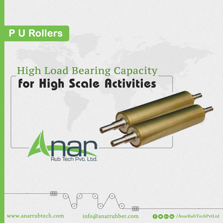 PU Rollers manufactured by Anar Rub Tech gives a wear resistance and better performance for welding rotator.  #PURollers  #PURollersManufacturers  #PURollersExporters  #PURollersSuppliers