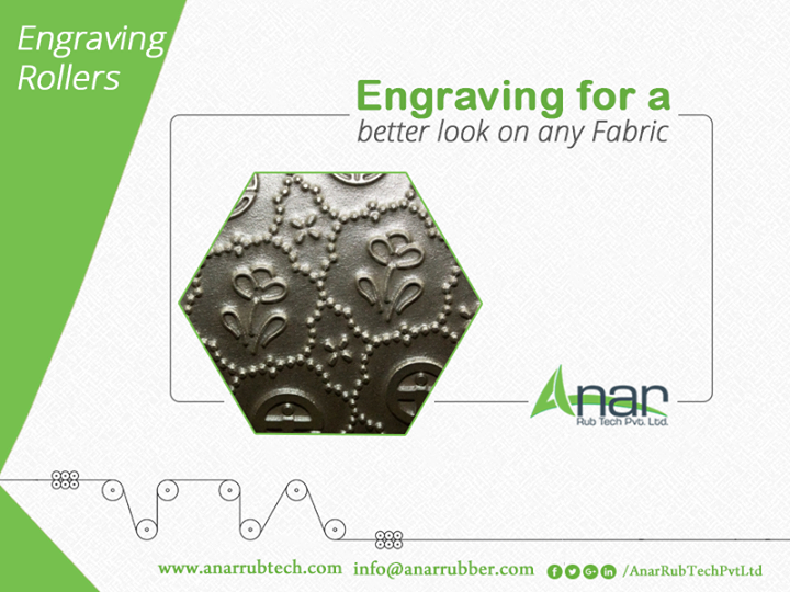 Engraving roller giving an embossed texture on any fabric whethe dupatta or saree and suitable for textile industry for better performance.  #EngravingRollers #EngravingRollersManufacturers  #EngravingRollersExporters #EngravingRollersSuppliers